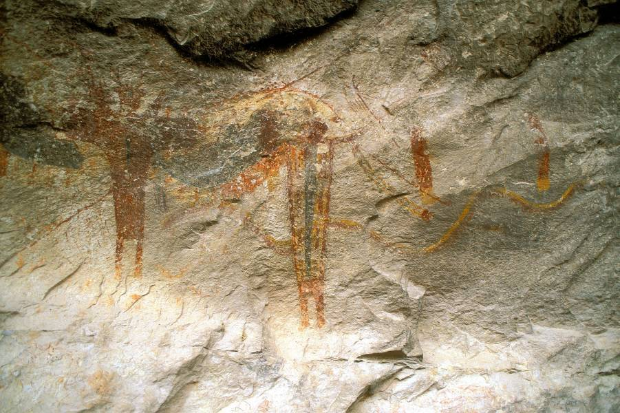 Fate Bell Shelter Rock Art- TPWD