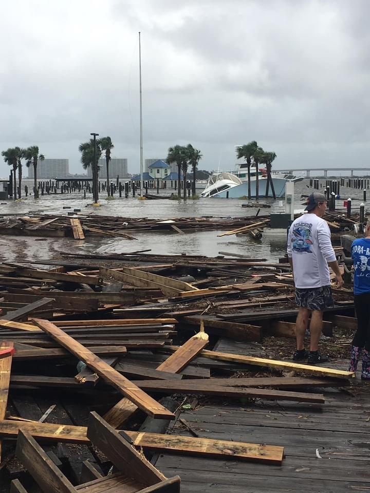Southwind Marina destroyed
